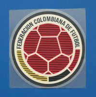 Wholesale Colombia football patch Soccer Balls Team logo
