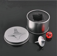 achat en gros de grands cadeaux film-Hot! 5Box Mini Great Zinc Alloy Silver Spinning Top À partir de la création Totem Movie Children Toys Beyblade With Retail Metal Box Christmas Gift