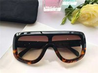 amber designs - new fashion women brand designer sunglasses CE41377 audrey goggle sunglasses wrap design unisex model big frame leopard double color frame