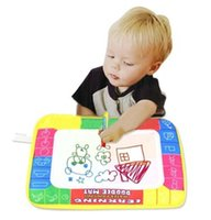 Wholesale 2017 New X19cm Children Water Drawing Painting Writing Mat Board Magic Pen Doodle Toy Christmas Gift Whale