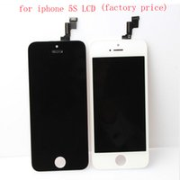 Wholesale For iPhone S Front LCD Assembly Touch Screen Digitizer Replacement Part Grade AAA Quality