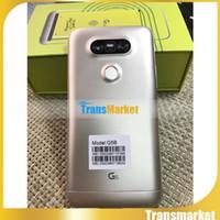 G5 5,0 pouces téléphones cellulaires MTK6580 Quad Core 512M / 4G montrent 4g lte Montrer 1G 64G 800 appareil photo android Smartphone Corps en métal avec logo
