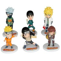 Wholesale price New Arrival Anime Japanese Cartoon Naruto Cute Action Figure Toy Set Figurines PVC Kids Toys