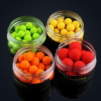 artificial box ball - 30pcs box Shapes Boilies Carp Bait Floating Fishing Lure Artificial Baits Carp Fishing Fish Beads Pops Up Smell Ball
