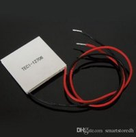 Wholesale TEC1 V Heatsink Thermoelectric Cooler Cooling Peltier Plate Module B00127 JUST