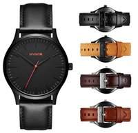 Wholesale relogio masculino new luxury brand men watch military business fashion casual waterproof watch leather quartz clock relojes sports watch