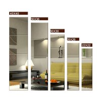 Wholesale Mirror for Home Decorations Mirror Kits with Sticker High Clear Mirror