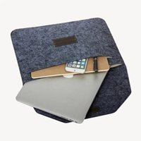 Wholesale Retina Touch Bar Fashion Soft Sleeve Laptop Bag Notebook Cover Case for For Macbook Air Pro