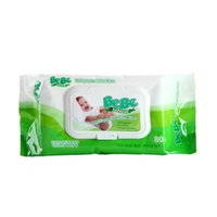 alcohol towel - Factory baby hand mouth wet towels for newborn baby wipes pumping with cover does not contain alcohol