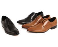 Los hombres hechos a mano de los zapatos oxford España-2017 zapato grande del hombre del cuero genuino tamaño 9 de los EEUU de la vendimia del diseñador apuntó los zapatos azules negros rojos hechos a mano del dedo del pie del dedo del pie para los hombres