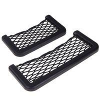 auto nets - cm cm Multifunction Car Elastic String Auto Vehical Storage Mesh Pouch Phone Holder Nets