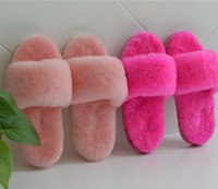 australian hotels - Australian import sheep fur slippers comfortable warm indoor slippers the slippers that occupy the home ms