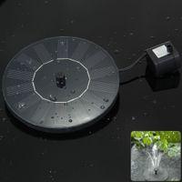 ac solar pump - High Quality V Floating Low Power Consumption Solar Fountain Pump Light for Birdbath Fish Tank Small Pond