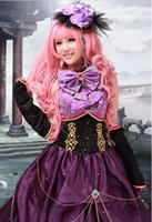 al por mayor luka vocaloid cosplay-Vocaloid Megurine Luka Cosplay Traje de Noche Gothic