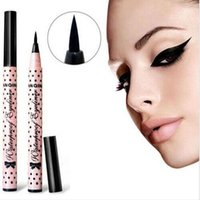 Wholesale YANQINA Black Eyeliner Waterproof Eyeliner Pencil Eyes Stereoscopic Effect Long Pen Lasting Liquid Quick Dry Eyeliner Makeup Beauty F99
