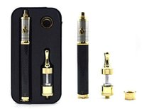 Wholesale VISION e cigarette kits with beaytiful packing box mah large battery gold V2 atomizer visio III electronic cigarette