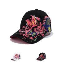 baseball fancy - New design Embroidery Womens Baseabll Cap Curved Baseball Hats With Mentalic Buckel Sports Hats Fancy Hats Women Designer Skull Cap