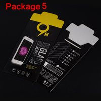 Wholesale Empty Retail Package Paper Boxes each box Packaging for Premium Tempered Glass H Screen Protector Sony iphone samsung
