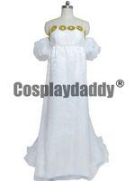 Wholesale Sailor Moon Cosplay Usagi Tsukino Chiffon White Dress Costume