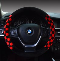 Wholesale In the new steering wheel set winter plush car sets of automotive interior supplies hot