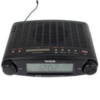 ac clocks - Tecsun Radio MP FM Stereo DSP Radio USB MP3 Player Desktop Clock ATS Alarm V AC Radio Recorder Y4137A