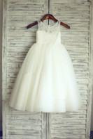 Wholesale 2017NEW Communion Party Prom Princess Pageant Bridesmaid Halloween birthday Wedding Flower Girl Dress