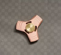 Wholesale hott sale Copper HandSpinner Rotation Time Minutes Long Anti Stress Toys Best Gift For Kids Adult Keep Hand Busy Spinner