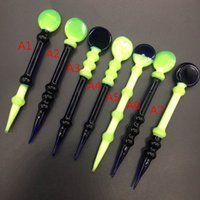 Wholesale HOT new many kinds glass dabber heady glass bong bongs for smoking bong color glass