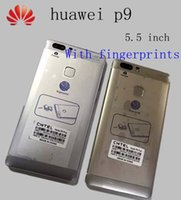 Wholesale With fingerprint copy phone huawei p9 Mobile Phone inch IPS x1080 MP Android6 MTK6592 Octa Core G RAM G ROM Dual SIM G Phone