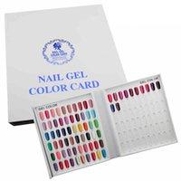 beauty salon cards - 120 Colors Nail Color Display Board Nail Polish Card Board Color Template Nail Art Salon Fashion Beauty Pattern Display Book