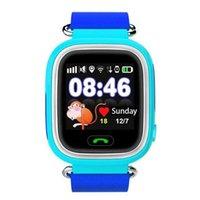 Q90 bebé teléfono niños GPS Wifi Smart Watch SOS GPS Buscador de localización Localizador de dispositivos Seguidor de niños seguros Anti Lost Monitorch niños
