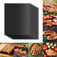 Wholesale BBQ BBQ Tools Teflon BBQ Grill Mat Teflon Pad Meshes for Churrasco Barbecue Tools Sheet Cooking and Baking