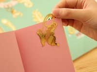 Wholesale 500Pcs lotFashion K bookmark golden peacock sunflower rose dragonfly olive type hollow out metal bookmark