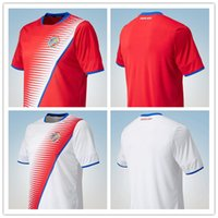 Wholesale Cheap Soccer Shirts Wholesale - COSTA RICA Jerseys Home red Away white Thailand Quality Football shirt Cheap soccer Uniforms 2016-17 season