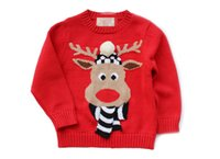 beef packages - 2016 New lovely beef flowers children sweater children coats cotton keep warm Christmas sweater Package Mail