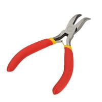 Wholesale Mini Curved Nose Pliers Bending pliers Jewellery Pliers Clamping tools Fishing Pliers Hand Tool multitool herramientas de mano