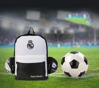 Wholesale Real MAD Football Package Folding Football Sports Bag Outdoor Equipment Outdoor Sports Shoulder Bag for Real Madrid Players Stuff Sacks
