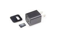 Wholesale 1080P Mini Adaptor Charger hidden spy Camera DVR Hidden Camera M1 plug Charger Spy camera P mini dv spy camera