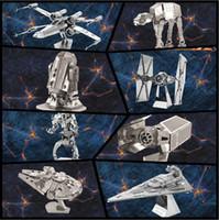 Wholesale 3D Metal Puzzles Model Educational Toys D Puzzle Jigsaw Kids Toys Assemble DIY Puzzles for Children Gift