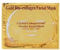 Wholesale Bio collagen Gold Face Mask Crystal Mask Skin Care whitening moisturizing Anti Aging collagen facial mask skin care
