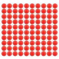 al por mayor pistola de juguete de color rojo-50pcs rellenan la bola suave roja de la bala para Nerf Rival Apolo compatible Juguete Arma Balas de la bala