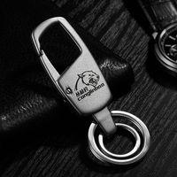 Wholesale BVS Leopard Design Key Ring Car Luxury Key Chain Man Business Simple Fashion Keyring Stainless Steel Key Holder