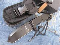 aluminum anodize - hot sale EXTREMA RATIO knife anticorodal alu black anodize handle axle lock original box packaging