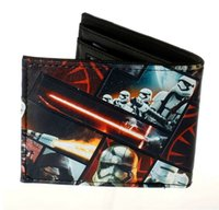 animated credit card - Male America Star Wars wallets fashion Short no Zipper Men s wallets Darth Vader animated cartoon purse young students personality wallet