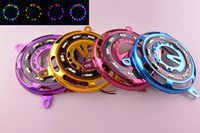 Wholesale plastic universal scooter Fan cover with LED light GY6 Motorbike Decoration Lamps