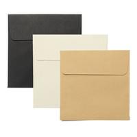 Wholesale cm Kraft Square Mini Blank Envelopes for Membership Card Small Greeting Card Storage Paper Envelopes DIY Supplies