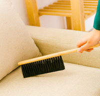 antistatic carpet - Wood Long Handle Antistatic Hotel Bed Sheets Carpet Chair Sofa Cleaning Brush Dust Hair Clean Brush Household Cleaning Tools