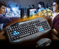Wholesale USB game keyboard and mouse keyboard cool special desktop computer game equipment manufacturers selling and retail