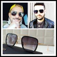 al por mayor los hombres gafas de sol espejo-2016 Nueva Dita Vuelo 006 Mujer Hombres Sunglass Flat Lens Espejo Uv 400 De Cuadrados De Calidad De Marca Logotipo Diseño Con El Caso