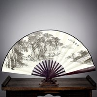 Wholesale good quality Suzhou summer China fan sub Antique bamboo fan gifts for men